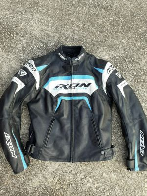 IXON  Womens Leather Motorcycle Jacket With Armor for Sale in Duluth, GA