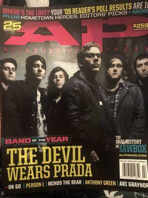 Alternative Press Magazine, The Devil Wears Prada, Issue #259 for Sale in Murfreesboro, TN