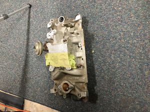 Chevy 350/ Holley 2-Barrel projection high rise intake for Sale in Manassas, VA