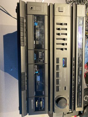 Panasonic Stereo Music System with 2 speakers for Sale in Orlando, FL