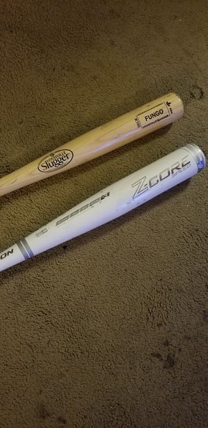 Wood Fungo and LE BBCOR bat 33/30 for Sale in San Diego, CA
