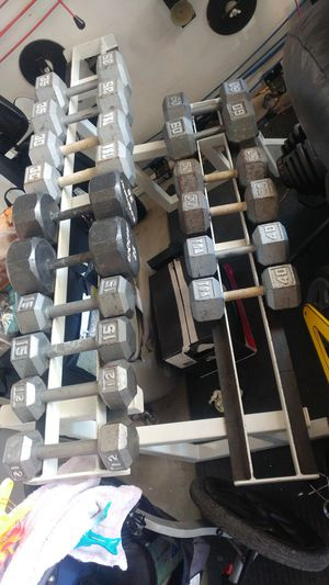 "60"" Promaxima commercial dumbbell rack for Sale in Elk Grove, CA"