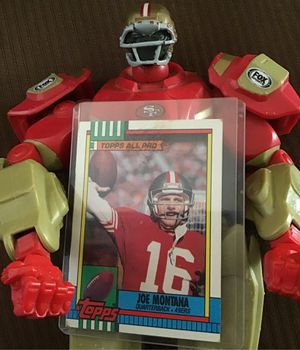 Forty Niners collectable Joe Montana (Trading card) for Sale in Patterson, CA