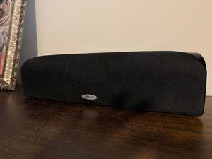 Polk Audio Center Channel; model TL1 CEN CH, black for Sale in Virginia Beach, VA
