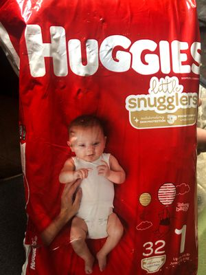 Unopened size one huggies for Sale in West Jefferson, OH