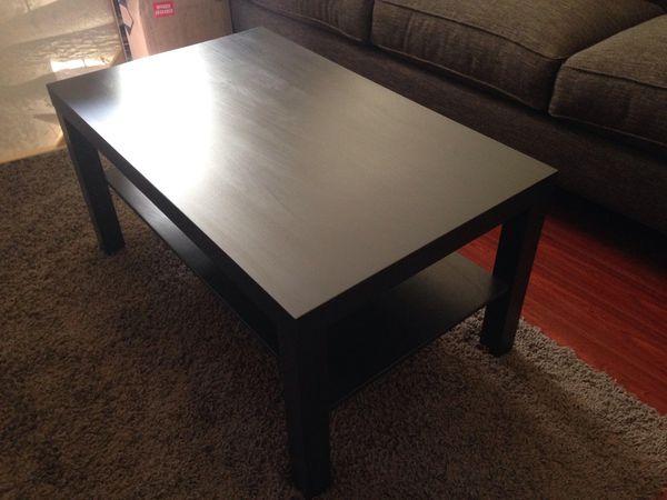 Black Coffee Table - Like New