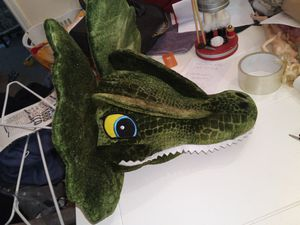 Kids dragon head plush toy for Sale in Lawrenceville, GA