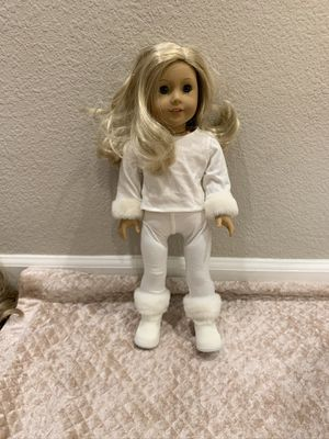 American Girl Doll White Winter Outfit for Sale in Granite Bay, CA