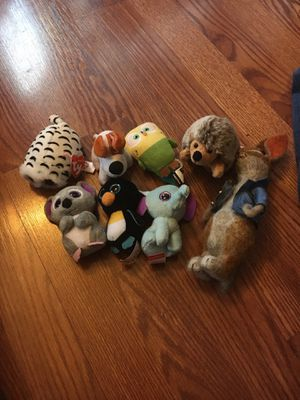 Random set of mini stuffed animals excellent condition for Sale in Westerville, OH