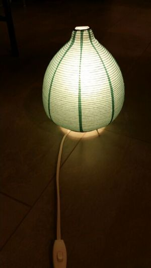 Blue Paper Lamp for Sale in Baltimore, MD