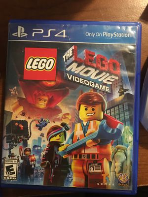 The LEGO Movie game for PS4 for Sale in Montpelier, VA