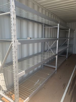 Metal a Shelving. Heavy Duty. Fast easy assembly for Sale in Fountain Valley, CA