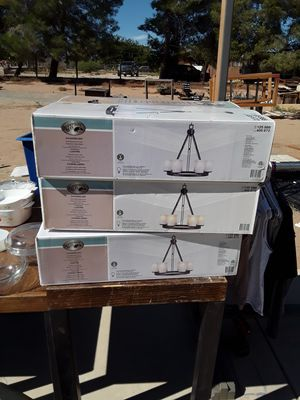 Chandeliers new in box for Sale in Hesperia, CA