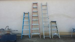 Ladders 6,8, 4, 12 foot for Sale in Lake Elsinore, CA