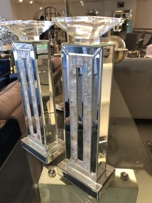 Mirrored candle holders for Sale in North Bethesda, MD