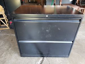 Lateral metal file cabinets for Sale in Lombard, IL