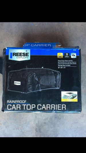 CAR TOPPER CARRIER for Sale in Santa Ana, CA