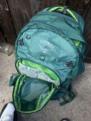 Osprey hiking backpack for Sale in Indianapolis, IN