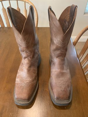 Justin work boots for Sale in Bakersfield, CA