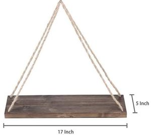 (2) Distressed Wood Floating Shelves - Like New! for Sale in Portland, OR