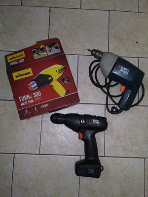 Three power tools. for Sale in Hialeah, FL
