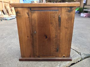10 gallon aquarium stand wooden for Sale in Sachse, TX