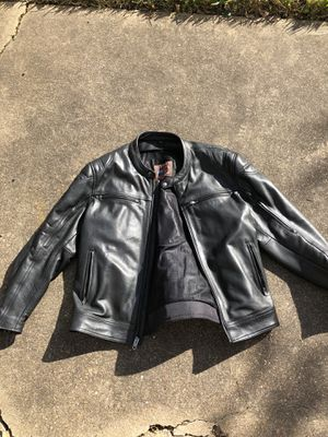 First Manufacturing Top Performer Leather Motorcycle Jacket for Sale in Pearland, TX