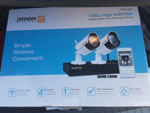 Defender wireless security cameras brand new in the box!! for Sale in Corona, CA