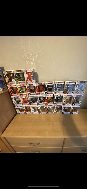 Funko pops 3 for $25! Or $10 each! for Sale in Pico Rivera, CA