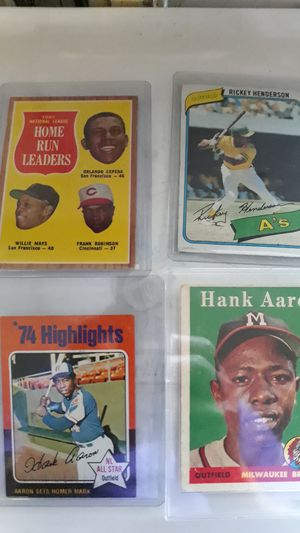 A collection of collector's choice. Original baseball cards in excellent condition. for Sale in San Francisco, CA