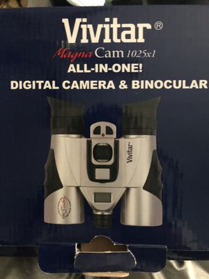 Vivitar Magma Cam 1025 X 1 Digital Camera & Binocular for Sale in Chantilly, VA
