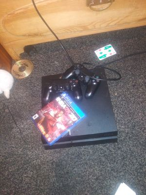 PS4 GAME SYSTEM WITH CONTROLLERS for Sale in Dallas, TX