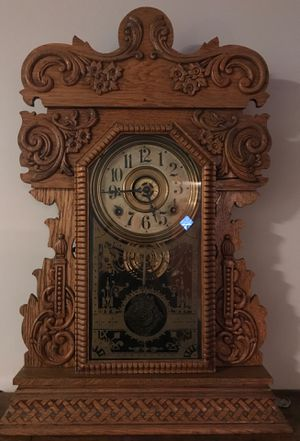 Sessions Antique Oak Mantle Clock for Sale in Waterbury, CT