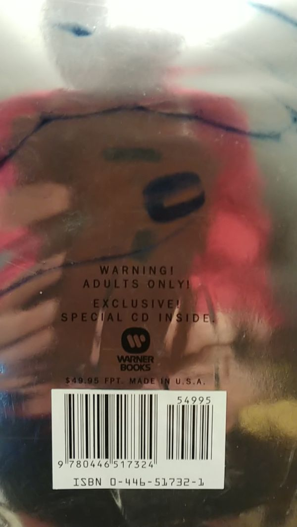 First edition sealed Madonna photobook entitled SEX