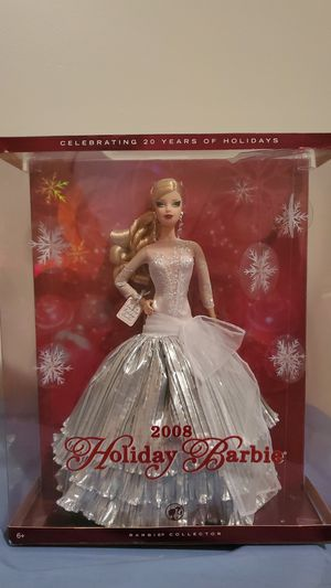 2008 Holiday Barbie for Sale in Edison, NJ