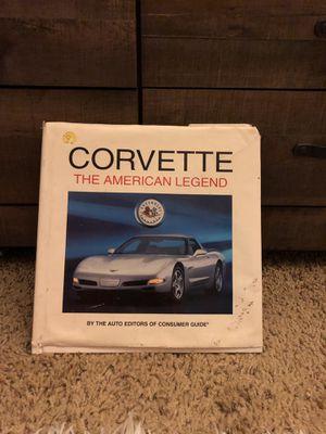 Corvette The American Legend Book for Sale in Beaumont, CA