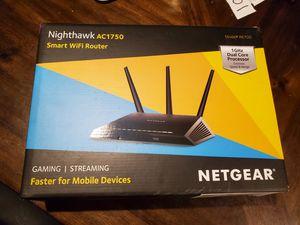 Netgear Nighthawk R6700 AC1750 Smart WiFi Router for Sale in Burbank, CA