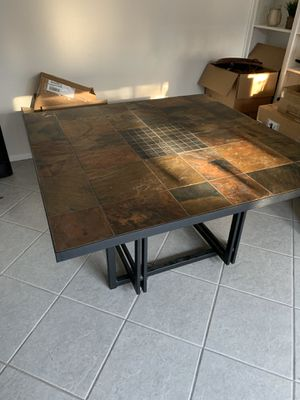 Sturdy dining room table and 4 chairs set for Sale in Tempe, AZ