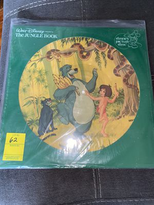 RARE Brand New 1981 Disney Vinyl Jungle Book for Sale in Hutto, TX