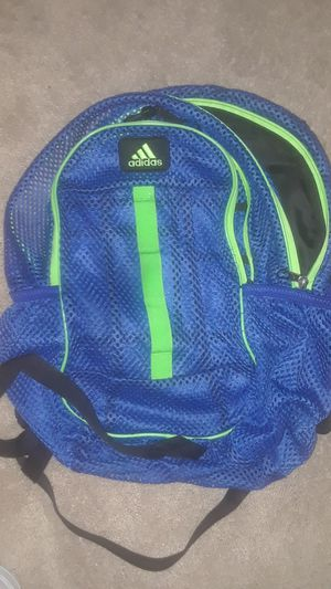 Adidas Blue/Green Backpack for Sale in Irving, TX