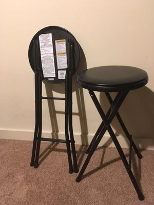 Folding Stool-Heavy Duty (2 pieces) for Sale in Redmond, WA