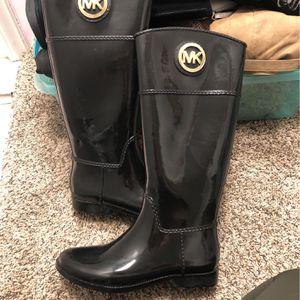 Michael Kors Womes Rain Boots Sz 9 for Sale in University Place, WA