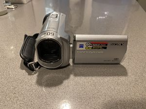 Sony handycam Video camera with case for Sale in Scottsdale, AZ