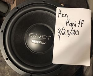 Soundstream Exact 12 v2 NOS for Sale in Sacramento, CA