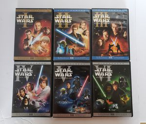 Star Wars Collection 1 to 6 DVDs for Sale in North Las Vegas, NV
