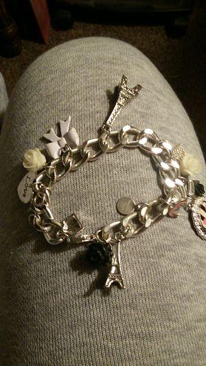 Silver charm bracelet for Sale in Denver, CO