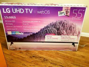 LG SMART 4K ULTRA HD TV 55 INCH BREN NEW $280 for Sale in Chicago, IL