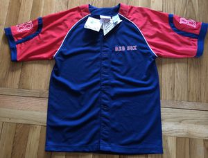 New MLB Boston Red Sox Baseball Jersey Youth Large 14-16 Blue/Red NWT for Sale in Tewksbury, MA