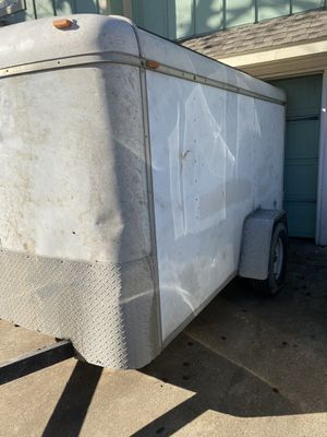 5 x 10 enclosed trailer for Sale in Garland, TX