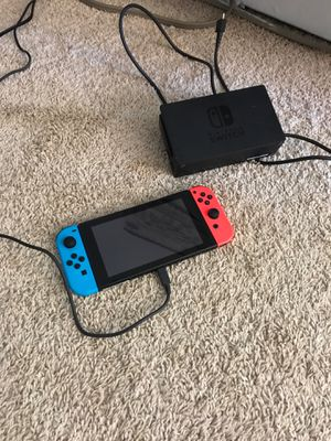 Nintendo Switch Blue/Red with Dock for Sale in Des Plaines, IL